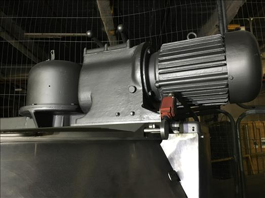 BCH steam jacketed scrape surface mixing vessel