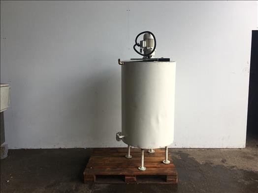 Centriplant 250L jacketed mixing vessel
