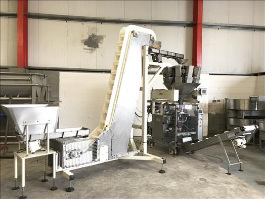 multihead weigher and bagging line